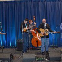 Jeff Brown & Still Lonesome showcasing at the 2017 World of Bluegrass in Raleigh, NC - photo © Bill Warren