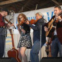 Becky Buller Band at the 2017 Delaware Valley Bluegrass Festival - photo by Frank Baker