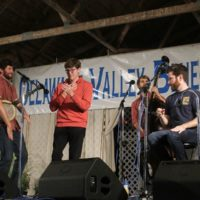 Charm City Junction at the 2017 Delaware Valley Bluegrass Festival - photo by Frank Baker