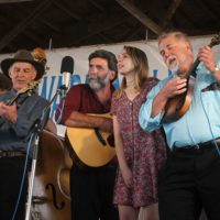 Bob Amos & Catamount Crossing at the 2017 Delaware Valley Bluegrass Festival - photo by Frank Baker