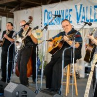 Big Country Bluegrass at the 2017 Delaware Valley Bluegrass Festival - photo by Frank Baker