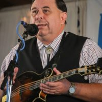 Tommy Sells with Big Country Bluegrass at the 2017 Delaware Valley Bluegrass Festival - photo by Frank Baker