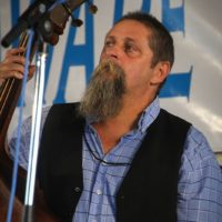 Tony King with Big Country Bluegrass at the 2017 Delaware Valley Bluegrass Festival - photo by Frank Baker