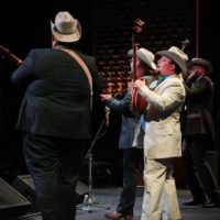 Po' Ramblin' Boys perform at the 2017 Momentum Awards luncheon during World of Bluegrass - photo by Frank Baker