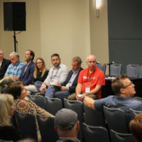 IBMA Board Of Directors at the 2017 Town Hall Meeting in Raleigh - photo by Frank Baker