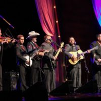 Doyle Lawson & Quicksilver perform on the 2017 IBMA Awards - photo by Frank Baker