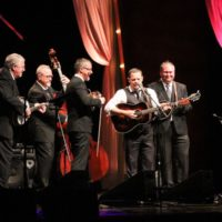 Balsam Range at the 2017 IBMA Awards - photo by Frank Baker