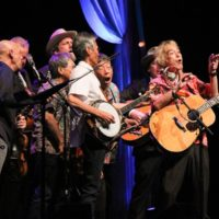 Bluegrass 45 with The Earls Of Leicester at the 2017 IBMA Awards - photo by Frank Baker