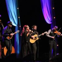 Front Country at the 2017 IBMA Awards - photo by Frank Baker