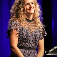 Abigail Washburn at the 2017 IBMA Awards - photo by Frank Baker