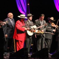 Osborne Brothers reunion at the 2017 IBMA Awards - photo by Frank Baker