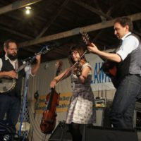 April Verch Band at the 2017 Delaware Valley Bluegrass Festival - photo by Frank Baker