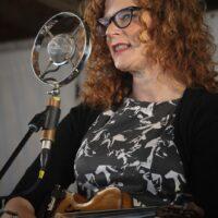 Becky Buller at the 2017 Delaware Valley Bluegrass Festival - photo by Frank Baker