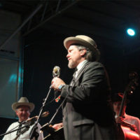 Jerry Douglas with The Earls Of Leicester at the 2017 Rhythm & Roots Reunion - photo by Teresa Gereaux