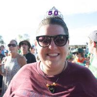 Celebrating 50 at The Festy, 2017 - photo by Gina Elliott Proulx