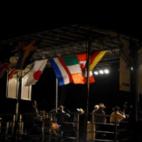 Byron Berline Band at the 2017 Oklahoma International Bluegrass Festival - photo by Pamm Tucker