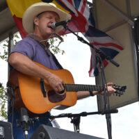 Bret Graham at the 2017 Oklahoma International Bluegrass Festival - photo by Pamm Tucker