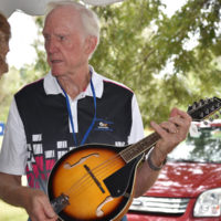 Byron Berline at the 2017 Oklahoma International Bluegrass Festival - photo by Pamm Tucker