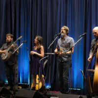 The Railsplitters at the 2017 World Of Bluegrass - photo by Frank Baker