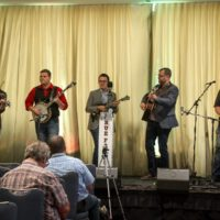 Chosen Road at the 2017 Wide Open Bluegrass - photo by Frank Baker