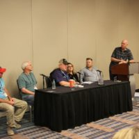 Songwriting and publishging seminar at the 2017 World Of Bluegrass - photo by Frank Baker