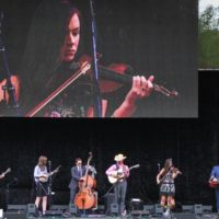 FFlatt Lonesome at the 2017 Wide Open Bluegrass festival - photo by Frank Baker
