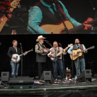 Doyle Lawson & Quicksilver at the 2017 Wide Open Bluegrass festival - photo by Frank Baker