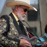 Doyle Lawson at the 2017 Wide Open Bluegrass festival - photo by Frank Baker