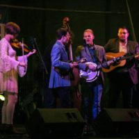 ETSU Pride Band at the 2017 Wide Open Bluegrass - photo by Frank Baker