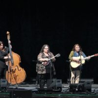 Sister Sadie at the 2017 Wide Open Bluegrass festival - photo by Frank Baker