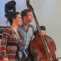 Sarah Siskind and Travis Book at the 2017 Festy Experience - photo by Teresa Gereaux