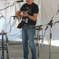 Andy Falco performs at the 2017 Festy Experience - photo by Teresa Gereaux