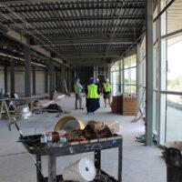 Top floor restaurant at the new International Bluegrass Museum (10/6/17) - photo by Katie Keller