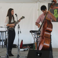 Sierra Hull and Ethan Jodziewicz at the 2017 Festy Experience - photo by Teresa Gereaux