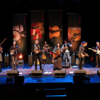 2018 Red Wine Bluegrass Party in Genoa - photo by Stephano Goldberg
