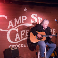 Bill Jones performs at Camp Street Cafe