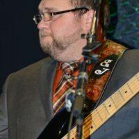 Eli Johnston with Doyle Lawson at the Fall 2017 SOIMF - photo © Bill Warren