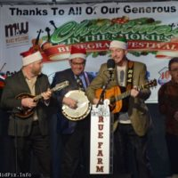 Joe Mullins & The Radio Ramblers at the 2017 Bluegrass Christmas In The Smokies festival - photo © Bill Warren