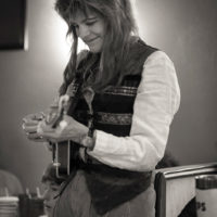 Tina Kaarsberg. FireFlies final concert - Alexandria, VA 24 December, 2017 - photo by Jerome Stephens