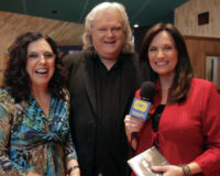 Sharon White and Ricky Skaggs with Shannon McCombs