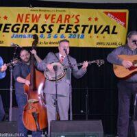 Feller & Hill at the 2018 Jekyll Island Bluegrass Festival - photo © Bill Warren