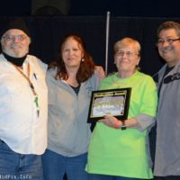 Another award given at the 2018 Yee Haw Music Fest - photo © Bill Warren