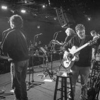 Ricky Skaggs & Kentucky do their sound check at The Birchmere (1/27/18) - photo by Jeromie Stephens