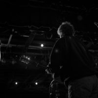 Paul Brewster with Ricky Skaggs & Kentucky do their sound check at The Birchmere (1/27/18) - photo by Jeromie Stephens