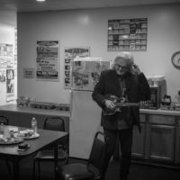 Ricky Skaggs backstage at The Birchmere (1/27/18) - photo by Jeromie Stephens