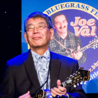 Akira Otsuka at the 2018 Joe Val Bluegrass Festival - photo © Tara Linhardt