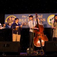 Berklee Bluegrass Amalgamation at the 2018 Joe Val Bluegrass Festival - photo © Tara Linhardt