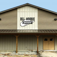 Bill Monroe Museum during construction