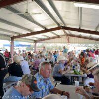Pot luck dinner at the 2018 Florida Bluegrass Classic - photo © Bill Warren