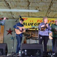 Lorraine Jordan & Carolina Road at the 2018 Palatka Bluegrass Festival - photo © Bill Warren